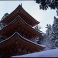 名草神社雪景